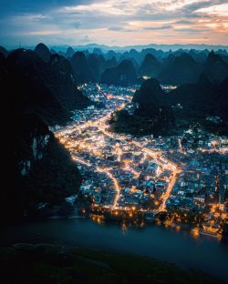Good evening Yangshuo, China