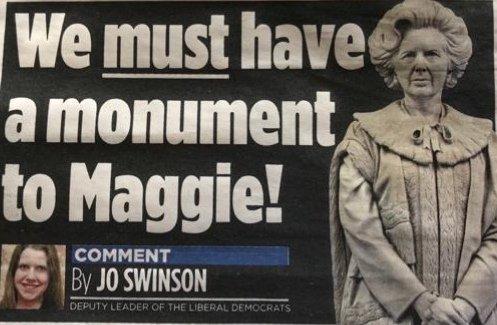 "Jo Swinson, new ""Lib Dem"" leader, ex Cameron cabinet minister and yellow Tory throug ..."