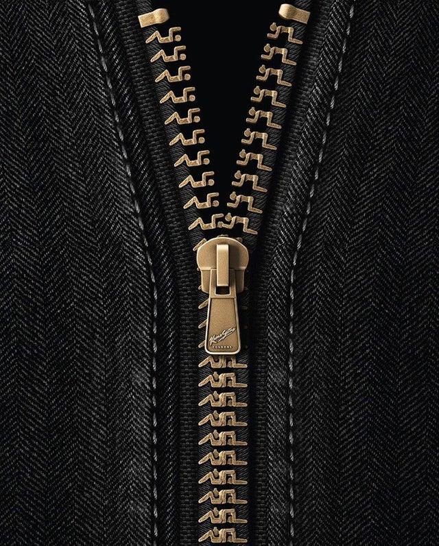 Creative zip design