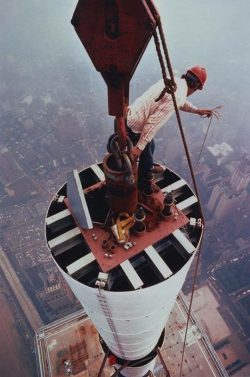 installing the needle on the WTC 1970