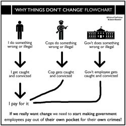 Why things dont change flowchart