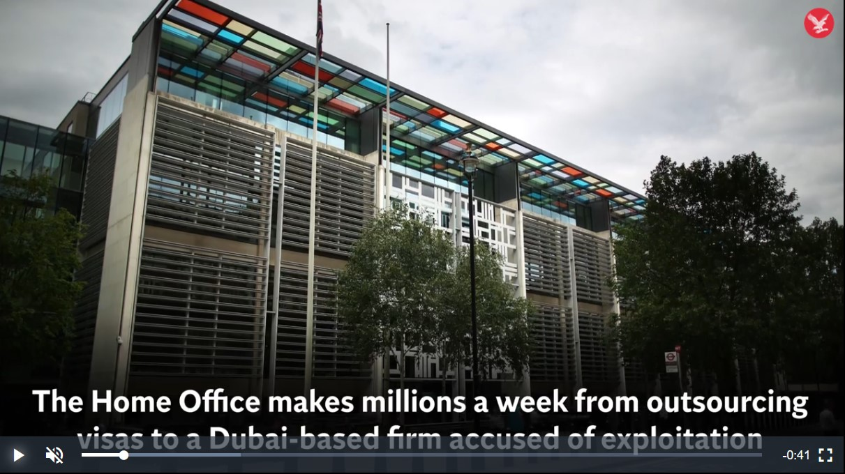 How Home Office makes millions a week from outsourcing visas to Dubai-based firm accused of expl ...