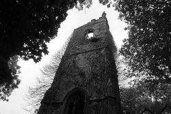 The ruin of Old Kea Church