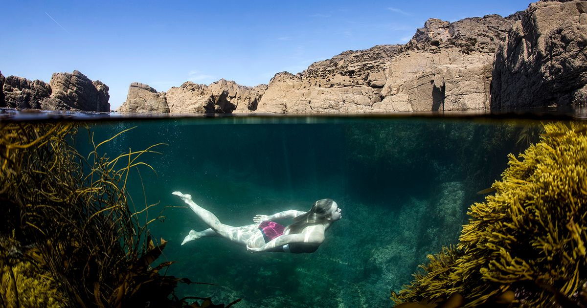 Skinny-dipping in Cornwall's historic miners' pools