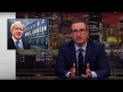Boris Johnson: Last Week Tonight with John Oliver