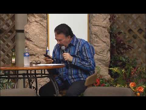 "Preacher stops to check his phone while ""speaking in tongues"""