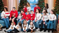 Britain's biggest family is expecting baby number 22