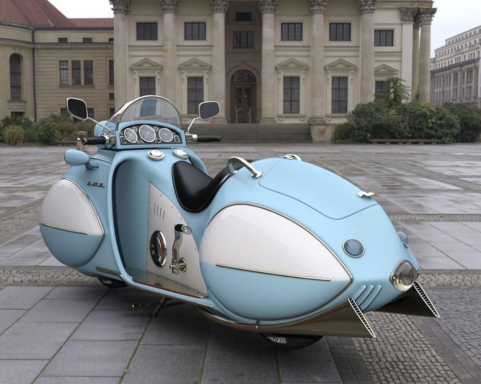 1930 Stream Line KJ Henderson Motorcycle