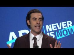 Sasha Baron Cohen's award acceptance speech to the ADL is just incredible! I really wish t ...