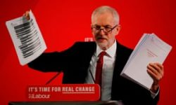 Jeremy Corbyn reveals dossier 'proving NHS up for sale'