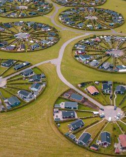 A Village Settlement in Denmark