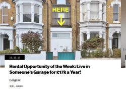 london rental opportunity of the week