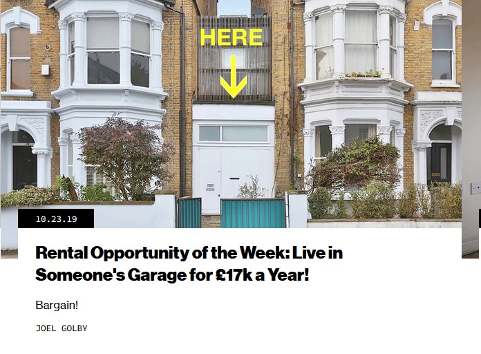 london rental opportunity of the week