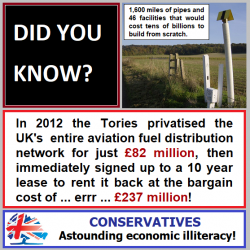 Is there nothing they wont privatise?
