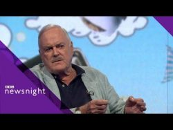 John Cleese on Brexit, newspapers and why he's leaving the UK – BBC Newsnight