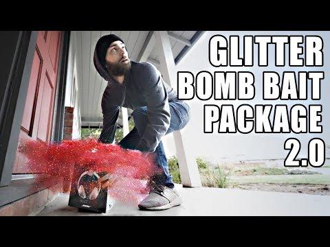 Porch Pirate vs. Glitter Bomb Trap 2.0 (Mark Rober)