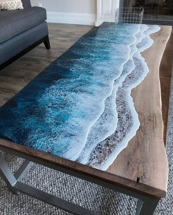 Amazing ocean coffee table