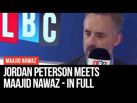 Jordan Peterson Meets Maajid Nawaz – Interview In Full – LBC