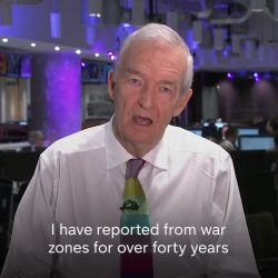 Jon Snow has reported on the atrocities of war across the world for 40 years, but nothing has mo ...