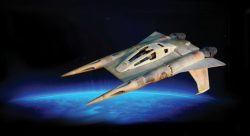 Thunderfighter, medium starfighter – Buck Rogers in the 25th Century (TV Series, Glen A. L ...