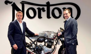 Call for inquiry into government funding of Norton Motorcycles
