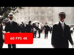 Amazing colourised 4k 60fps footage from New York in 1911