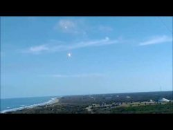 Extremely loud Sonic Booms generated from SpaceX's rockets landing