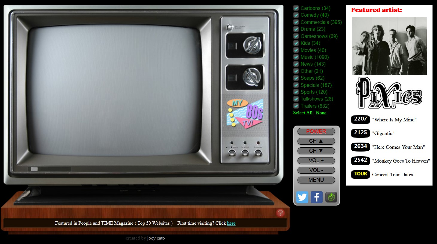 My 80s TV, awesome retro TV