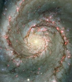 Gorgeous shot of the Whirlpool Galaxy