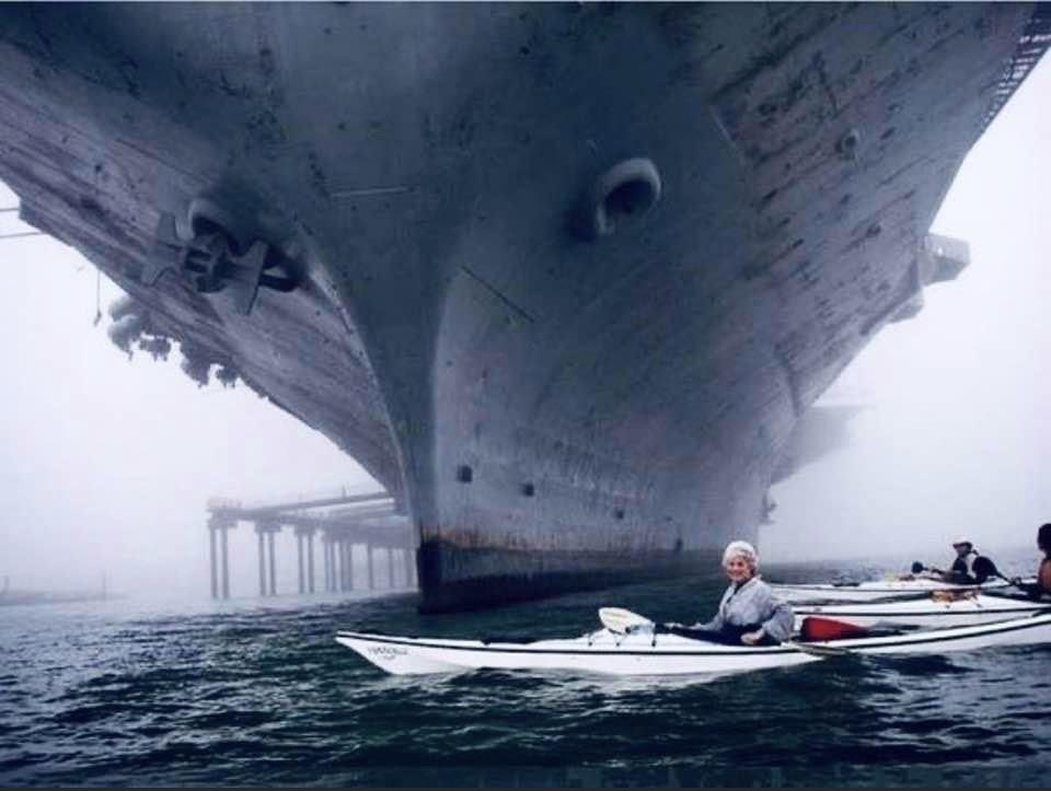 Arghhhh, a huge phobia of mine, comes from childhood when friends and I used to kayak past huge  ...