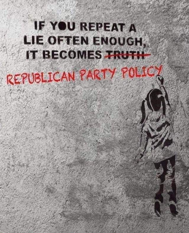 Republican = Conservative = Tory = Right Wing = Fascists