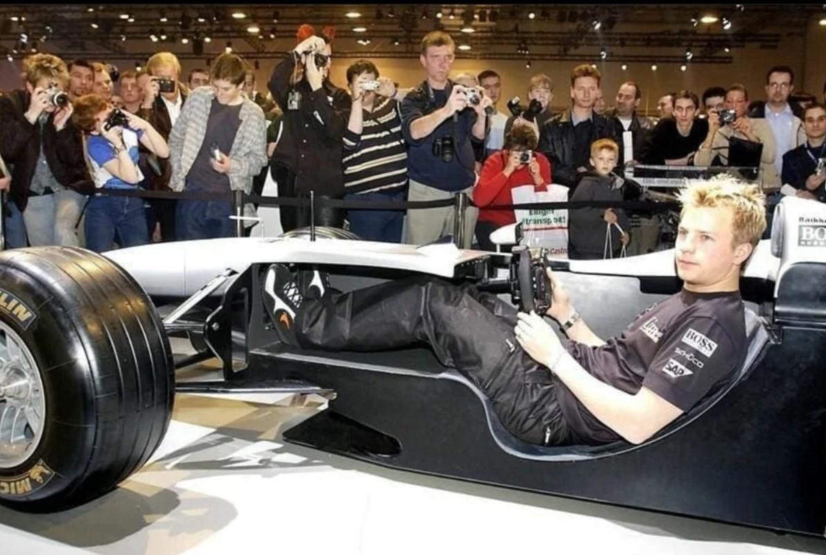 Formula 1 car cockpit