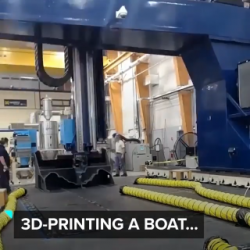3D printing a boat