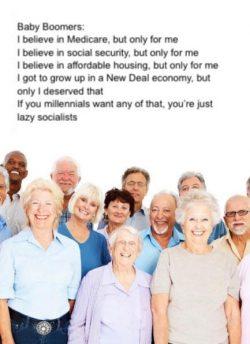 Boomers. Selfish? Nahhhhhh