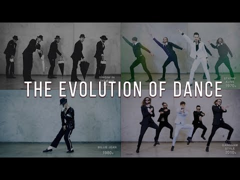 The Evolution of Dance – 1950 to 2019 – By Ricardo Walker's Crew