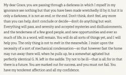 Novelist Henry James (born on this day in 1843) once wrote a wonderful letter of advice to a fri ...