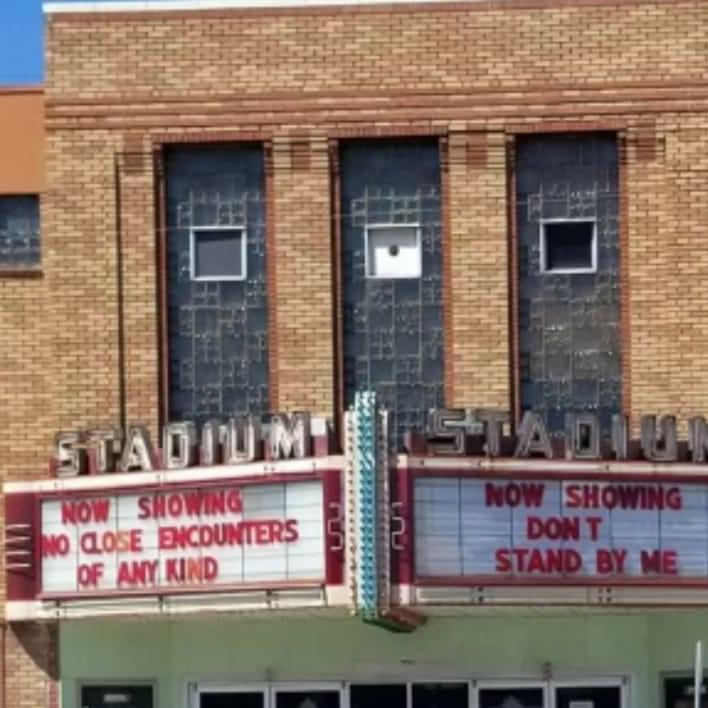 This cinema owner has a sense of humour