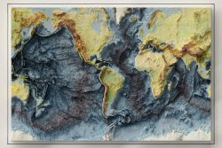 Global sea floor map