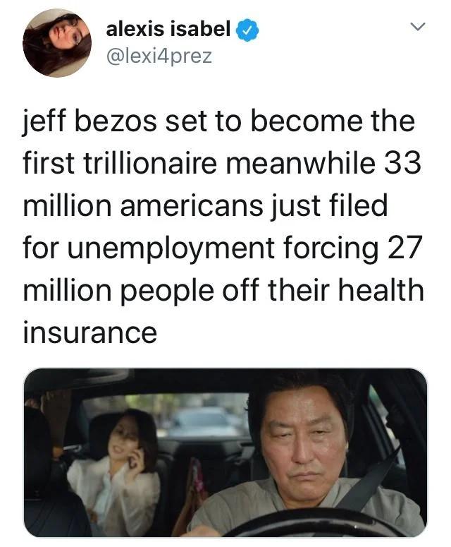 Billionaires shouldn't exist let alone trillionaires.