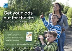 I wish the RSPB had run with this ad