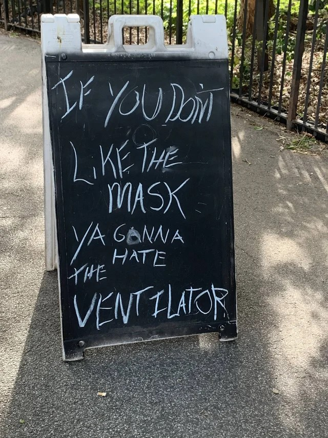 If you don't like the mask, ya gonna hate the ventilator