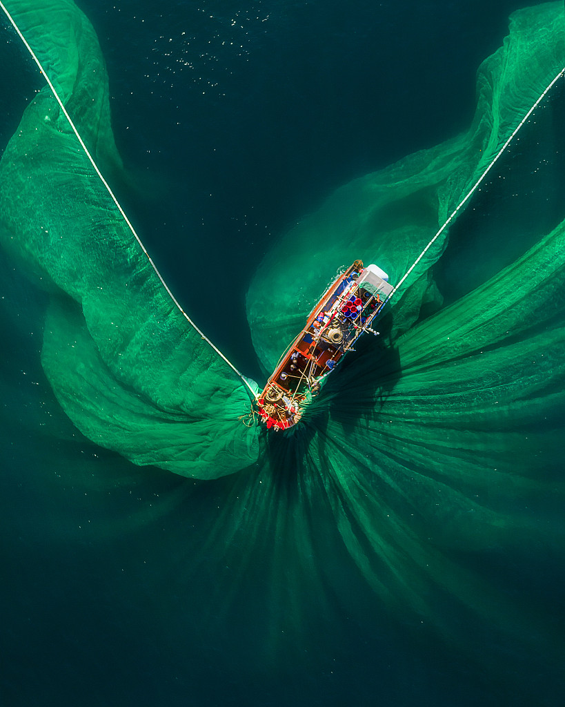 Fishermans nets