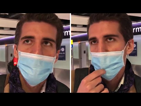 Tourist lands at Heathrow, admits he's sick and hasn't been told about UK quarantine