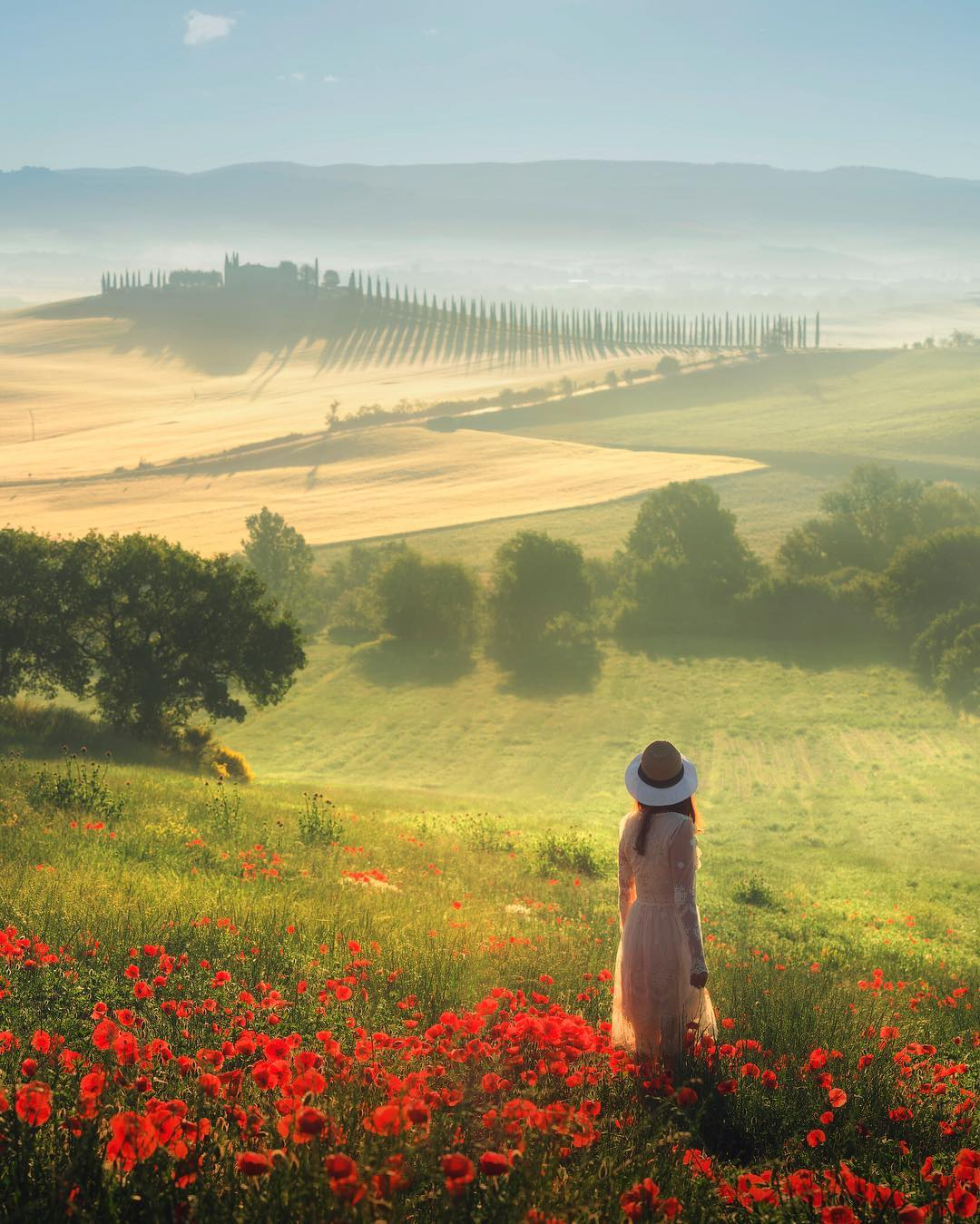 Tuscany in the Spring