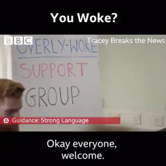 The overly woke support group