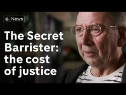 The Secret Barrister: is it only the rich who can afford to defend themselves?