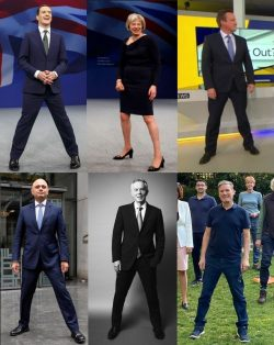"""Power stance"" pricks"
