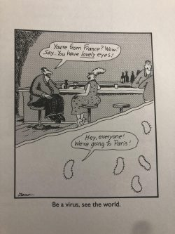 Gary Larson nailed it years ago