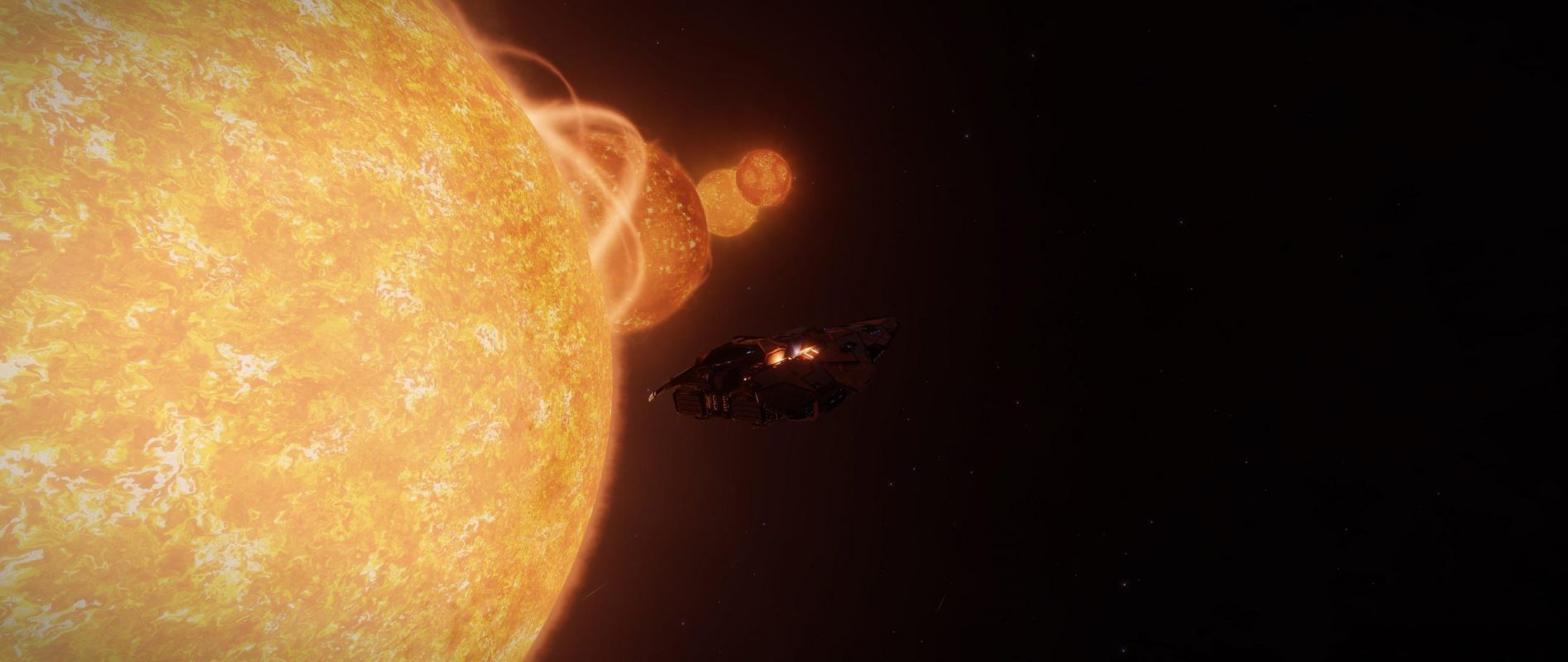 A system with 4 suns