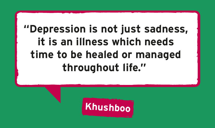 Depression doesn't mean I'm lazy or rude